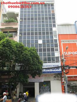 Cho thuê tòa nhà văn phòng Tân Bình mặt tiền đường Xuân Hồng