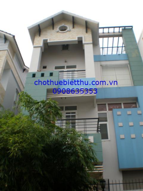 Cho thuê biệt thự quận Phú Nhuận MT đường Hoa Lan