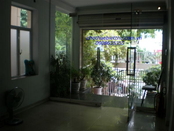 Cho thuê biệt thự quận  phú nhuận 2 mặt tiền Phan Xích Long quận Phú Nhuận