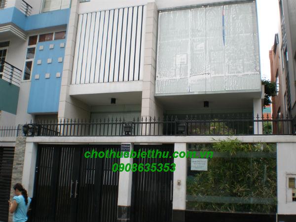 Cho thuê biệt thự quận Phú Nhuận khu Phan Xích Long