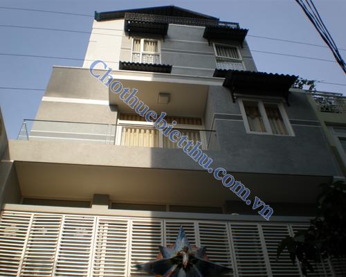 Cho thuê nhà trung tâm  quận 1 mặt tiền đường Võ Thị Sáu
