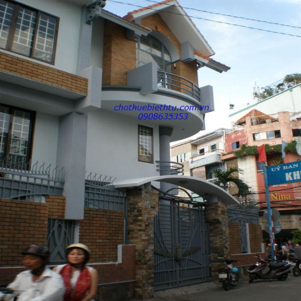 Cho thuê biệt thự quận 3,đường Nam Kỳ Khởi : 500 m2