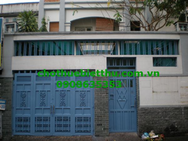 Cho thuê biệt thự quận 3 đường Lý chính Thắng:720 m2