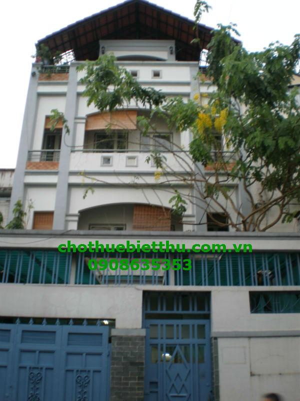 Cho thuê biệt thự quận 3 đường Trần Quang Diệu