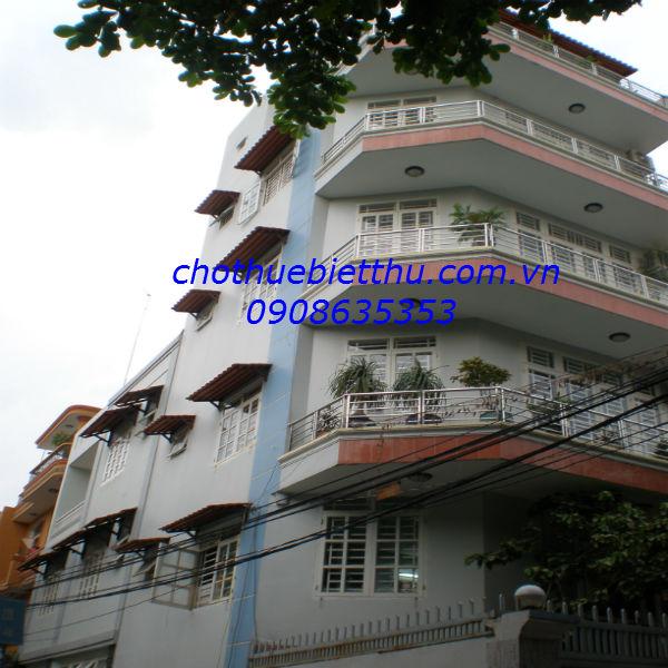 Cho thuê biệt thự quậnTân Bình mặt tiền đường Lam Sơn