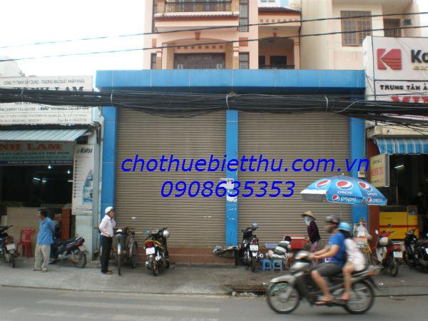 Cho thuê mặt bằng quận 10 mặt tiền đường Tô Hiến Thành