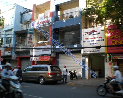 Cho thuê mặt bằng quận 3 mặt tiền đường Tú Xương