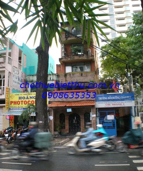 Cho thuê mặt bằng đường Nguyễn Đình Chiểu