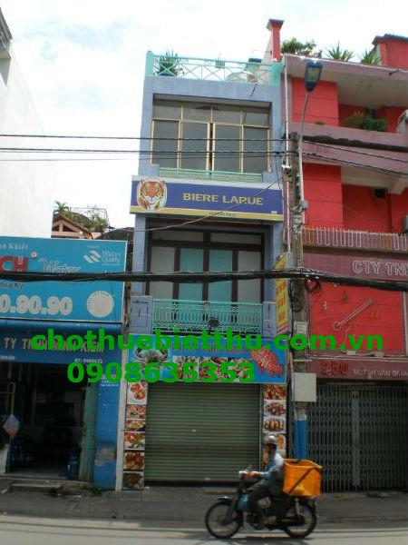 Cho thuê nhà quận Phú Nhuận mặt tiền đường Nguyễn Văn Trỗi