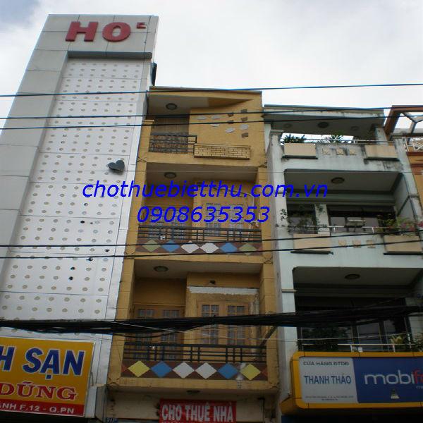 Cho thuê mặt bằng Phú Nhuận mặt tiền đường Huỳnh Văn Bánh