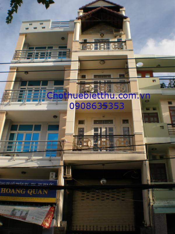 Cho thuê nhà quận  Phú Nhuận mặt tiền đường Hoa Lan