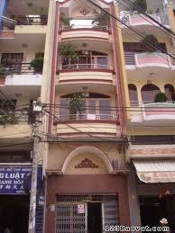 Cho thuê nhà  trung tâm quận 3 mặt tiền đường Trần Quốc Thảo